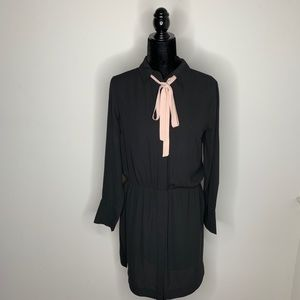 Banana Republic Button Down Dress with Tie